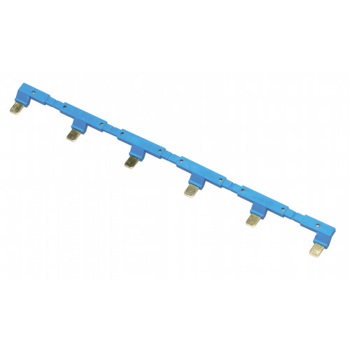 6-полюсный шинный соединитель для розеток 94.54; синий 09456