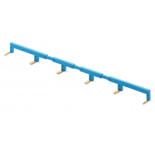 6-полюсный шинный соединитель синий 02226