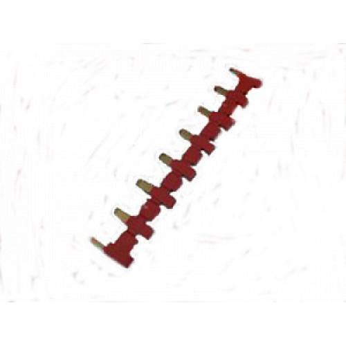8-полюсный шинный соединитель красный 093081