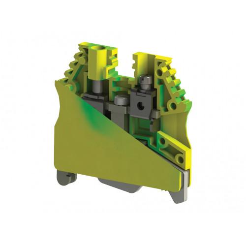 AVK 2,5-4TK; Клеммник на DIN-рейку 2,5 - 4 мм.кв., (земля) 334450