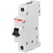 Автоматический выключатель 1-полюсной S201M C63UC