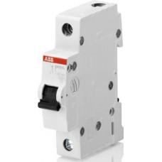 Автоматический выключатель 1-полюсной SH201L B6