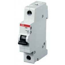 Автоматический выключатель 1-полюсный S201P B6