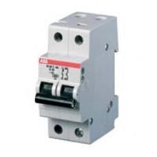 Автоматический выключатель 2-полюсной S202 C10