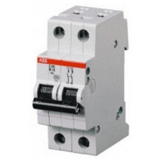 Автоматический выключатель 2-полюсной S202 Z0.5