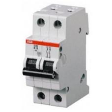 Автоматический выключатель 2-полюсной S202 Z40