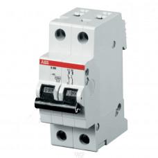 Автоматический выключатель 2-полюсной S202M B20