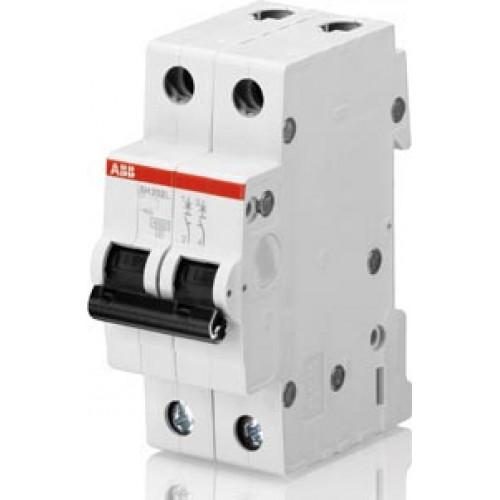 Автоматический выключатель 2-полюсной SH202 C 0,5 2CDS212001R0984