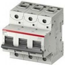 Автоматический выключатель 3 полюс. S803C D125