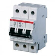Автоматический выключатель 3-полюсной S203 C4