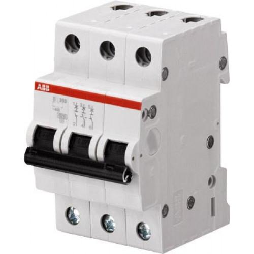 Автоматический выключатель 3-полюсной SH203 C 20 2CDS213001R0204