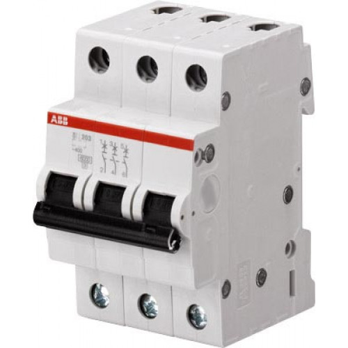 Автоматический выключатель 3-полюсной SH203L C63 2CDS243001R0634