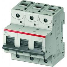 Автоматический выключатель 3-полюсный S803S C80