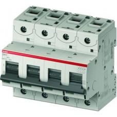 Автоматический выключатель 4 полюс. S804C D100