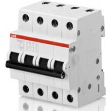 Автоматический выключатель 4-полюсной SH204 C 1