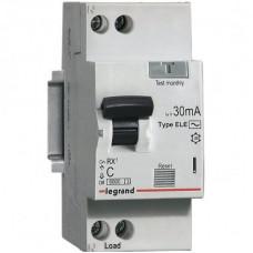 Автоматический выключатель дифференциального тока  АВДТ RX3 30мА 10А 1П+Н AC