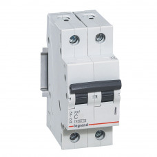 Автоматический выключатель двухполюсный RX3 4,5ka 16А 2П C