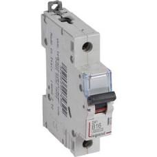 Автоматический выключатель DX3 1П B16A 6000/10kA
