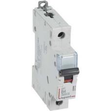 Автоматический выключатель DX3 1П B4A 6000/10kA