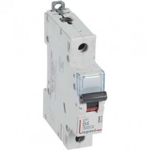 Автоматический выключатель DX3 1П B4A 6000/10kA 407428