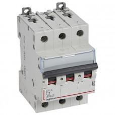 Автоматический выключатель DX3-E C1 3П 6000/6kA