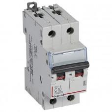 Автоматический выключатель DX3-E C10 2П 6000/6kA
