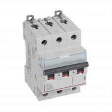 Автоматический выключатель DX3-E C10 3П 6000/6kA