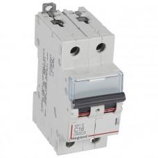 Автоматический выключатель DX3-E C16 2П 6000/6kA