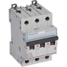 Автоматический выключатель DX3-E C16 3П 6000/6kA