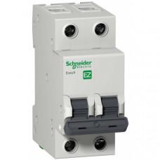Автоматический выключатель EASY 9 2П 16А С 4,5кА 230В =S=