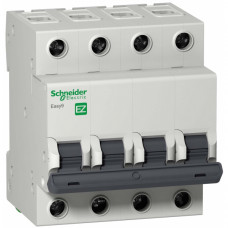 Автоматический выключатель EASY 9 4П 50А B 4,5кА 400В =S=