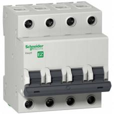 Автоматический выключатель EASY 9 4П 63А С 4,5кА 400В =S=