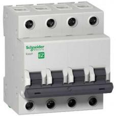 Автоматический выключатель EASY 9 4П 6А B 4,5кА 400В =S=