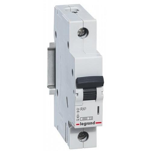 Автоматический выключатель однополюсный RX3  4,5кА 50А 1П C 419669