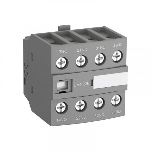 Блок контактный дополнительный CA4-22M (2НО+2НЗ) для контакторов  AF09…AF16..-30-10 1SBN010140R1122