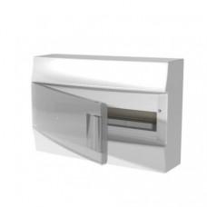 Бокс настенный Mistral41 18М прозрачная дверь (с клемм)
