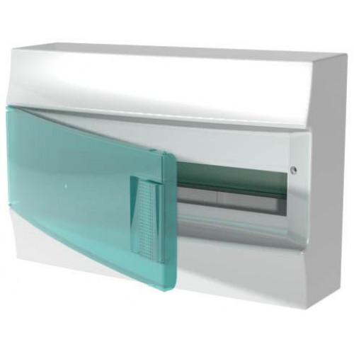 Бокс настенный Mistral41 18М зеленая дверь(без клемм) 1SPE007717F0820