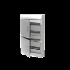 Бокс настенный Mistral41 72М прозрачная дверь (с клемм)