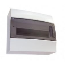 Бокс настенный Mistral41 8М прозрачная дверь (с клемм)