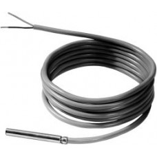 Датчик температуры кабельный, Pt1000,  -30…+130 ºС, силиконовый кабель