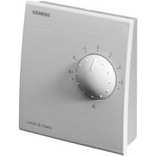 Датчик температуры комнатный,LG-Ni 1000, 0…+50 ºС, с регулятором уставки +/-3К