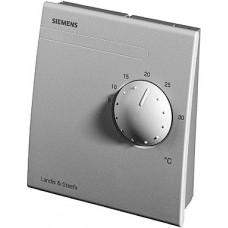Датчик температуры комнатный,LG-Ni 1000, 0…+50 ºС, с регулятором уставки 5…30 ºС