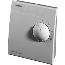 Датчик температуры комнатный,LG-Ni 1000, 0…+50 ºС, с регулятором уставки 5…35 ºС