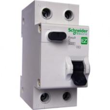 Дифференциальный автоматический выключатель EASY 9 1П+Н 32А 30мА C AC 4,5кА 230В =S=