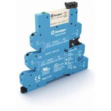 Интерфейсный модуль, электромеханические реле, серия MasterPLUS; 1CO 6A; питание 220В DC;  безвинтовые клеммы Push-in
