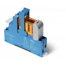 Интерфейсный модуль, электромеханическое реле; 1CO 10A;  питание 230В AC;  LED + варистор