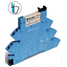 Интерфейсный модуль, электромеханическое реле; 1CO 6A; питание 24В AC/DC; (пружинный зажим)