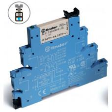 Интерфейсный модуль, электромеханическое реле; 1CO 6A; питание 24В DC (чувствит.);
