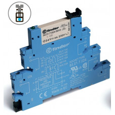 Интерфейсный модуль, электромеханическое реле; 1CO 6A; питание 48В DC (чувствит.);
