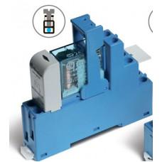 Интерфейсный модуль, электромеханическое реле; 2CO 8A;  питание 230В AC;  LED + варистор